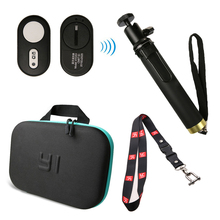 Camera bag case Neck lanyard Strap Yi 4K Bluetooth Remote Control For Xiaomi Selfie Stick YI Xiaoyi 4k+ Lite