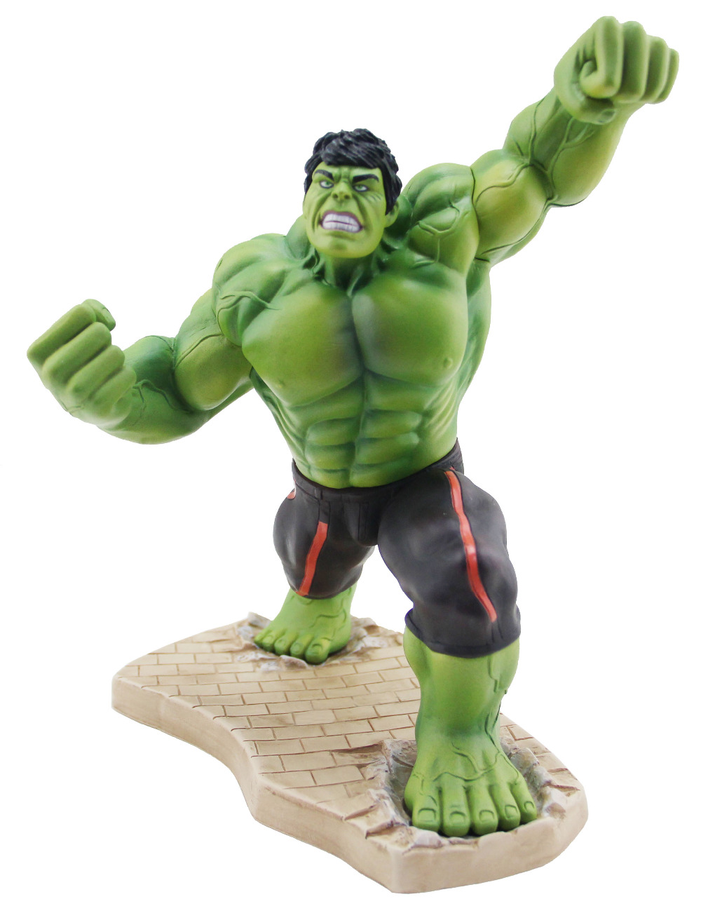 NEW hot ! 20cm avengers Super hero hulk pvc action figure toys Christmas gift doll 2017 new avengers super hero iron man hulk toys with led light pvc action figure model toys kids halloween gift