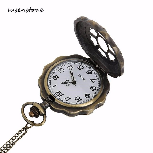 Susenstone 2018 Luxury Fashion Men Pocket Watch The Greatest Pocket Watch Men Sports Casual Pocket Watch 40