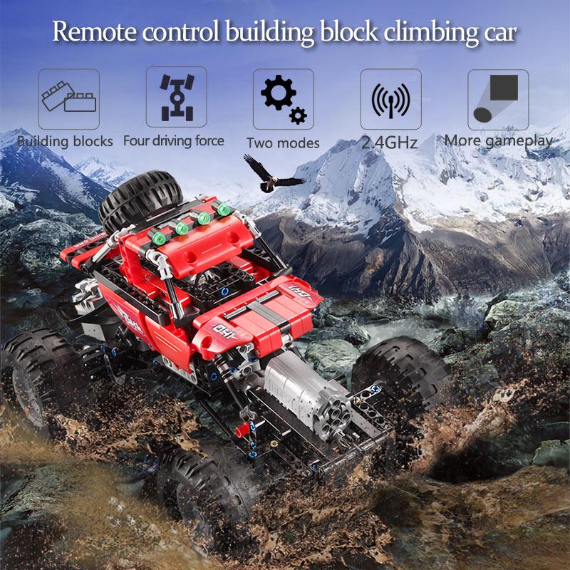 Cada City 489PCS 2.4Ghz All Terrain Off-Road Climbing Trucks