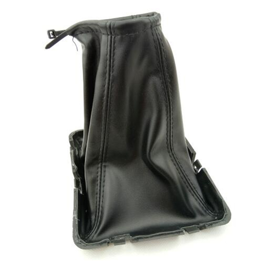 Gear Dustproof cover for 2003-2008 Buick Regal 2.0L Manual Block Shift Lever dust cover Blcak leather