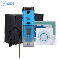 BSIDE BTH05 Portable Mini 3 Channel USB Data Logger Internal External Temperature 40C~125C Humidity tester with retail box