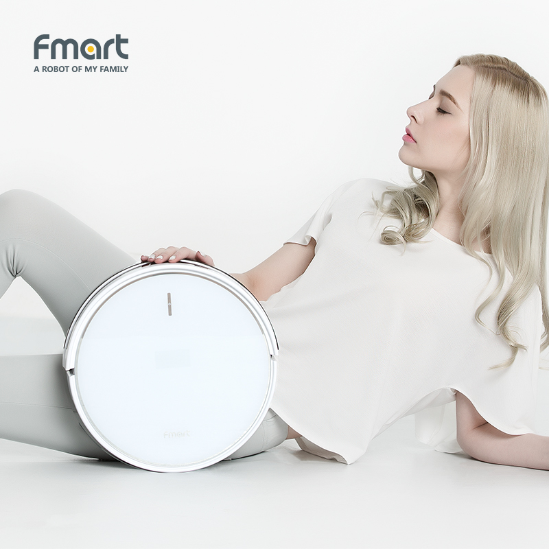 Fmart Vacuum Cleaner Robot Intelligent For Home App Control Automatic Vacuums Aspirator FM R570