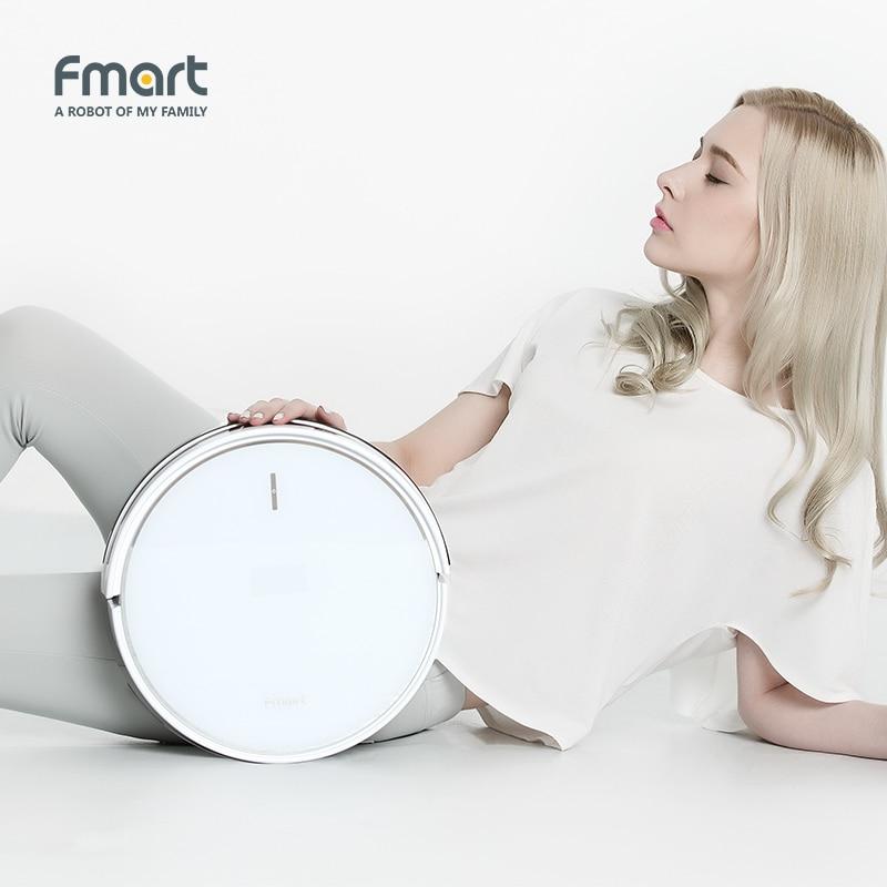 Fmart Vacuum Cleaner Robot Intelligent For Home App Control Automatic Vacuums Aspirator FM R570