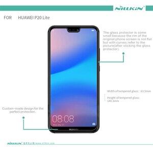 Image 5 - Pour Huawei P20 Lite protecteur décran Nillkin incroyable H/H + PRO verre trempé pour Huawei P20 Lite Nova 3E (5.84 pouces)