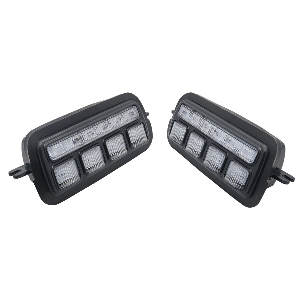 LED Daytime Running Lights for Lada Niva 4x4 1 set  2 pcs with Running Turn Signal Car Styling Accessories Tuning DRL (14)