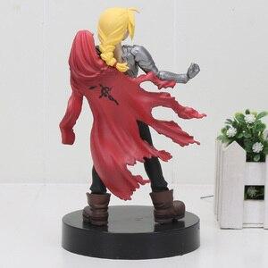 Image 4 - Fullmetal figurine alchimiste Edward Elric, personnage spécial, Manga japonais, jouets modèles à collectionner, 16cm