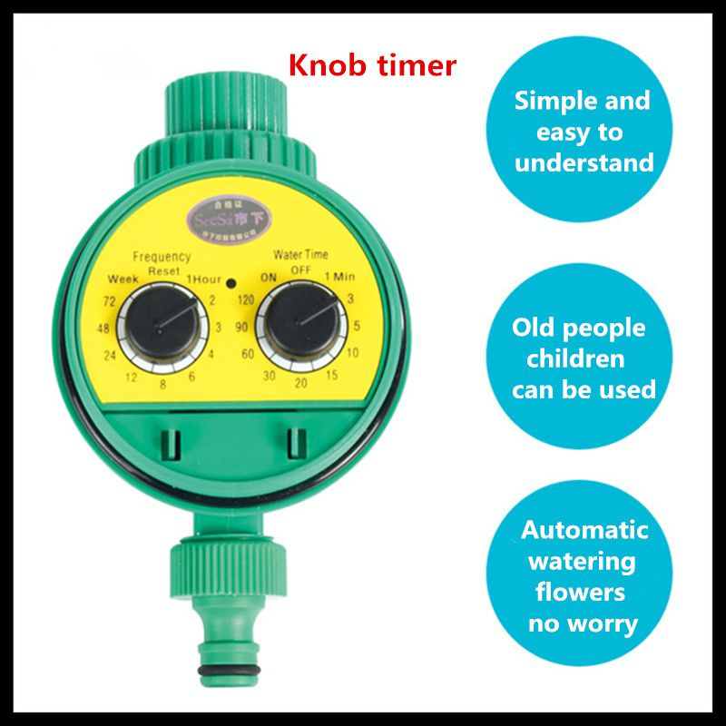Micro-spray automatic spray smart timer (knob timer timer) irrigation timer water controller timer at11dn
