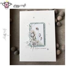 Piggy Craft metal cutting dies cut die mold Leaf strip decoration Scrapbook paper craft knife mould blade punch stencils dies