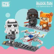 Loz micro blocos blocos blocos figura de ação brinquedo robô kit modelo bloco diamante edifícios brinquedos quentes hobbies educacionais diy