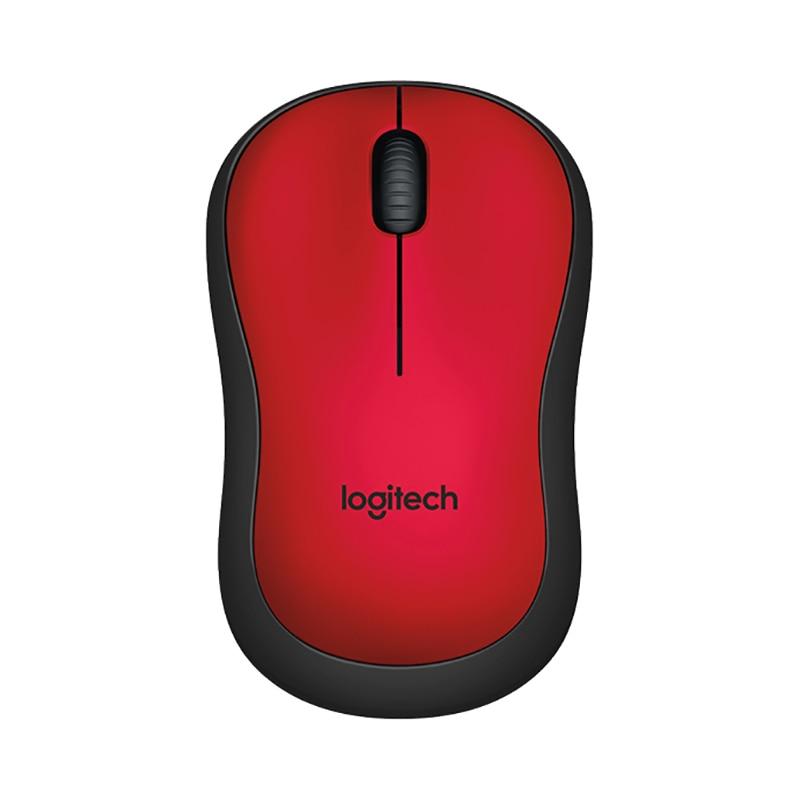 лучшая цена Mouse Logitech M220 SILENT Red