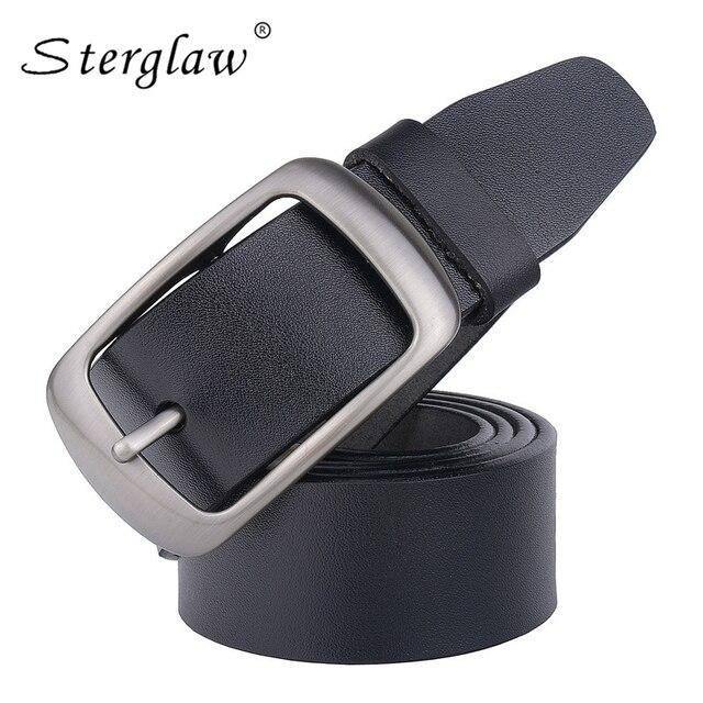Designer ceintures homme jeans de haute qualité ceinture homme 2018 New  casual Sangle mâle véritable ceinture a4a5547d473