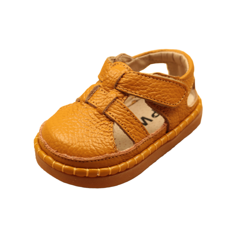 Image 4 - Summer New Baby Toddler Shoes Leather Baby Sandals Soft Bottom Boys And Girls Sandals Children Shoes Breathable 0 3 Years ShoesSandals & Clogs   -