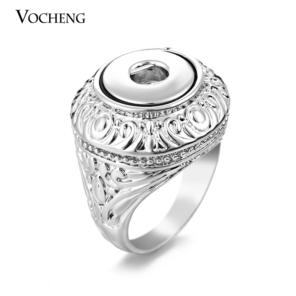 Popper Ring Interchangeable Jewelry Small 12mm Fashion Snap Button Ring (NN-243) image