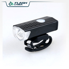 Bicycle LED Light 3W 300 Lumens 3 Mode Mountain Bike & Road Bike Cycling Front Light USB Charging Waterproof Built-in Battery цена