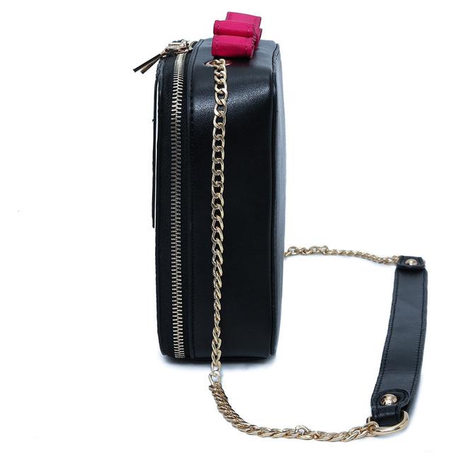 Kawaii Piano Keys Shoulder Bag Vintage Cute Bow Small Handbag Women Ladies Mobile Purse Famous Brand Messenger Crossbody Bags