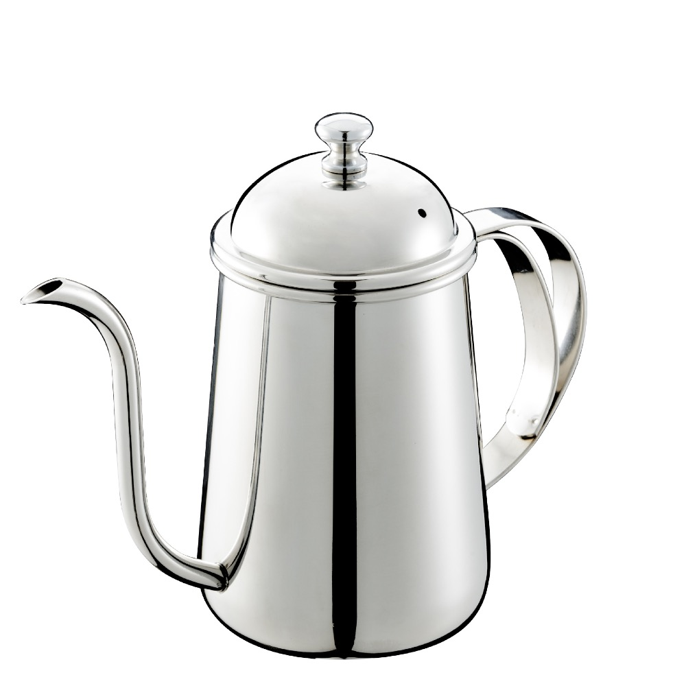 Stainless steel goosenech spout kettle/coffee drip kettle pot/stainless steel coffee pot with high quality and bottom price