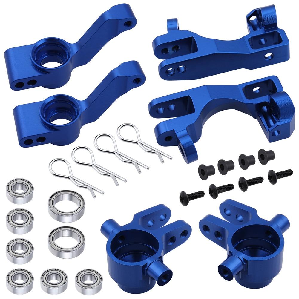Рулевые блоки для 1/10 Traxxas Slash 4x4, алюминиевые, левые и правые, детали # 6837X C-HUB 6832X, осевые переносчики, мультипликаторы 1952X