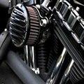 Motocicleta Áspera Artesanía Sistema de Filtro Aire Para Harley Sportster XL883/1200 2004-2014 Motocicleta