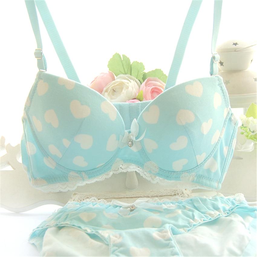 font b 2017 b font new arrival lovely bra set push up high quality underwear