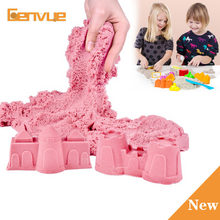 300g/Bag Slime Sand Clay Magic Powder For Sand Charms Toys Super Fun Colored Dynamic Sand Indoor Arena Play Sand Clay Kids Toys(China)