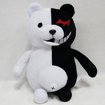 1 шт.. милые Мультяшные куклы Dangan Ronpa Monokuma куклы плюшевые игрушки черный белый медведь Детские игрушки подарок ребенку на день рождения 25 см 35...