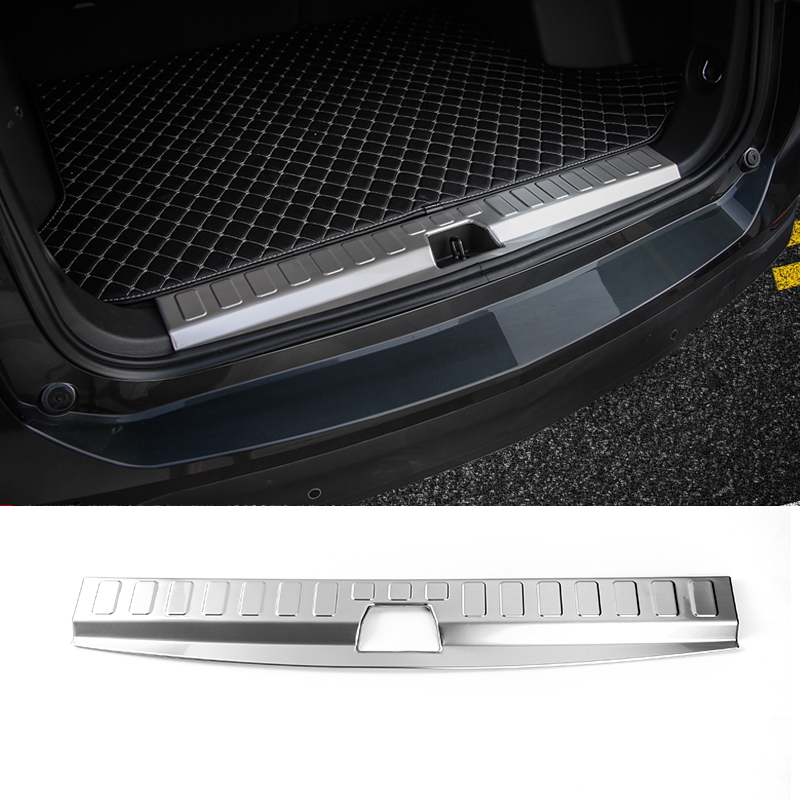 SHINEKA Car Accessories Rear Trunk Guard Rear Bumper Trunk Door Protector for Chevrolet Equinox 2017 casio ga 100l 8a