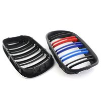 Car Front Bumper Cover Mute Black Dual Line Racing In The Network Suitable For 1999 2003 BMW E53 X5 51138250051 51138250052