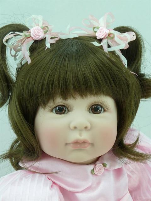 60cm soft silicone vinyl reborn baby doll