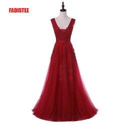 New arrival sexy party evening dresses Vestido de Festa A-line prom dress lace beading Robe De Soiree V-neck dress with Zipper