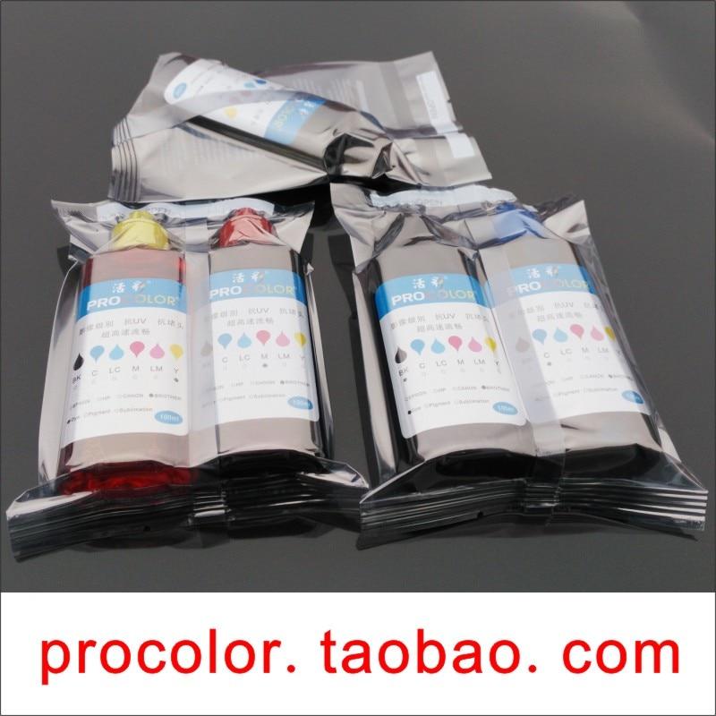 WELCOLOR PGI550BK Pigment ink 551 CLI-551BK C M Dye ink refill kit for Canon PIXMA Ip7250 Ix6850 MX725 MX925 CISS inkjet printer