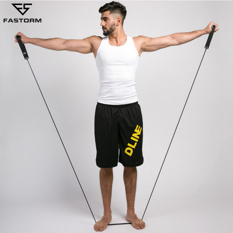 FASTORM Training Strength Rubber Pull Strap Sport Body Latex Belt Force Arm Thigh Fitness Workout Elastic Resistance Bands