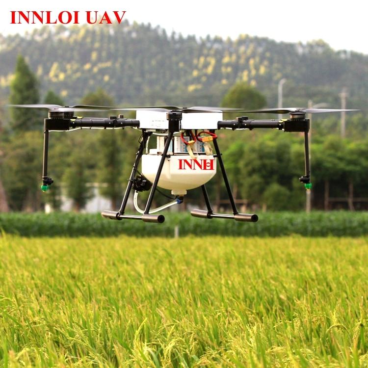 US $959 0  10Kg Crop Sprayer Drone drone pesticide sprayer Auto fly  Agriculture Drone Pesticide Spraying UAV remote control helicopter-in Parts  &