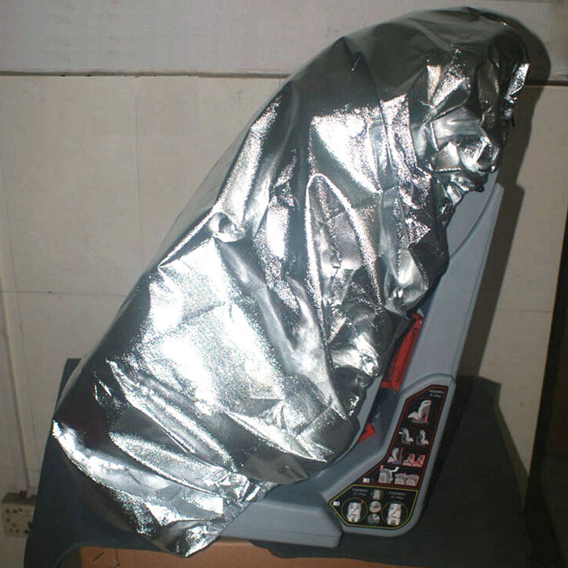 Обновление серебро анти-УФ детское автокресло Защита от солнца Тенты Защита от солнца Пылезащитная крышка ребенок Детская безопасность стул пыли протектор утолщаются расширить