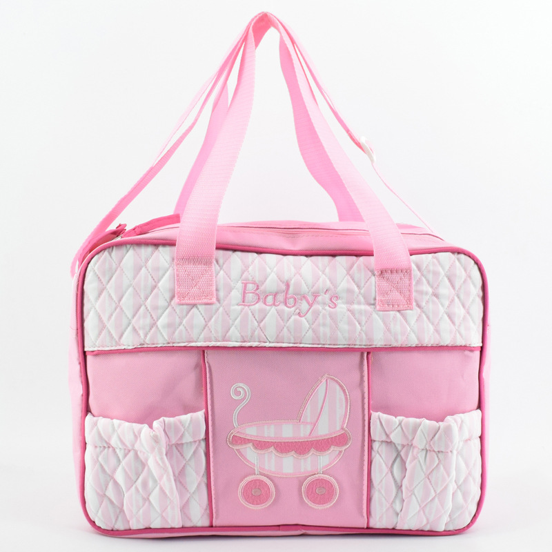 New Baby Diaper Bags High Quality Nappy Bag Designer Tote Cute Nursing Bag for Girls Boys Mother's Maternity Bag Hobos fashion cute panda baby mummy diaper nappy bags keep fresh lunch breast milk bag thermal portable travel picnic hobos baby care