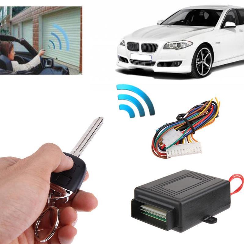 VODOOL universel voiture verrouillage Central à distance véhicule Auto sans clé entrée systèmes d'alarme Kit voiture remplacement porte verrouillage contrôleur