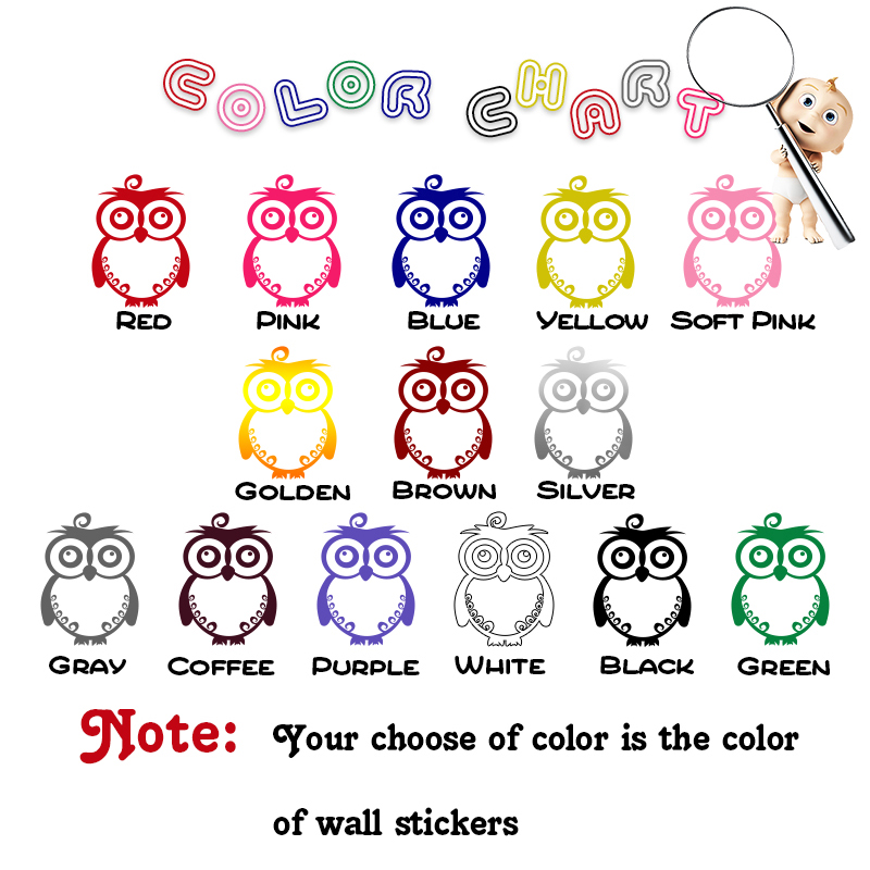 Cute girls Vinyl Decals Wall Stickers For Baby Kids Rooms Decor Vinyl Art Decals in Wall Stickers from Home Garden
