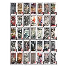 6 Pack of Nylon Elastic Fake Temporary Tattoo Sleeve Designs