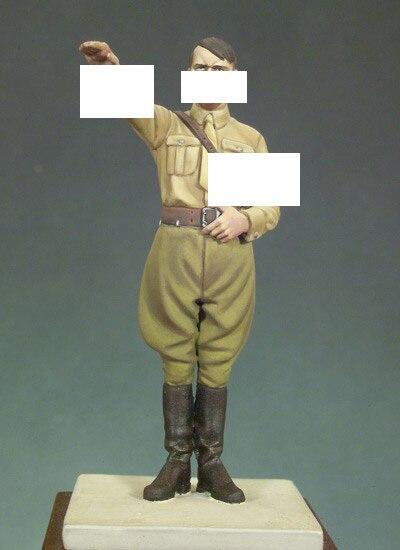 Смола Комплекты 1/32 Шкала ВТОРОЙ МИРОВОЙ ВОЙНЫ генералов 54 мм солдаты Смола Не цвет Модель рисунок DIY ИГРУШКИ новый ВТОРОЙ МИРОВОЙ ВОЙНЫ WW2