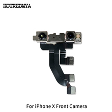 купить Front Camera For iPhone X 5.8 Front Facing Camera Lens Right Light Proximity Sensor Flex Cable Replacement Part дешево