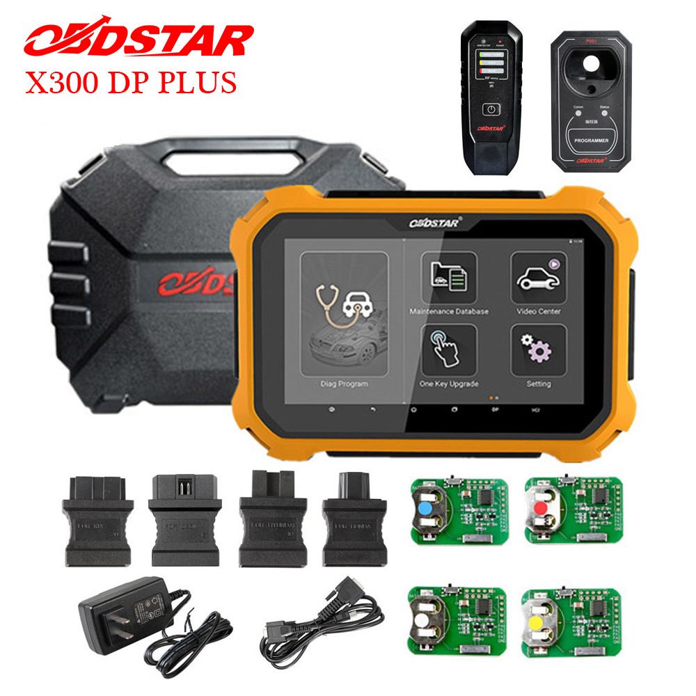 OBDSTAR X300 DP Plus X300 PAD2 C Package Full Version Support ECU Programming and for Toyota