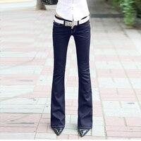New Fashion Women's Denim Jeans,Plus sizes Popular Casual Denim Pants Joker style blue jeans Free shipping W019