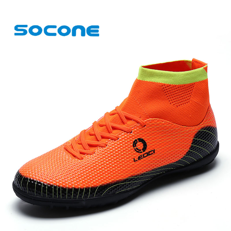 Socone New Arrival Kids&Boys TF Football Shoes Plus Size ...