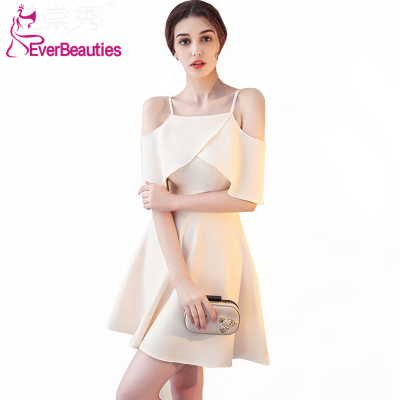 Robe De   Cocktail   Short   Cocktail     Dresses   2019 Women's Homecoming   Dresses   Prom Party   Dresses