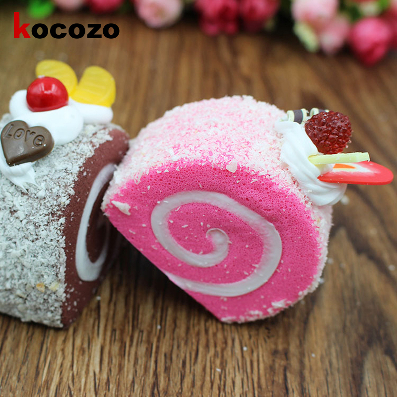 KOCOZO Squishy Toy Soft Squishi Colorful Simulation Hamster Toy Slow Rising for Relieves Stress Anxiety Home Decoration Fun Toy