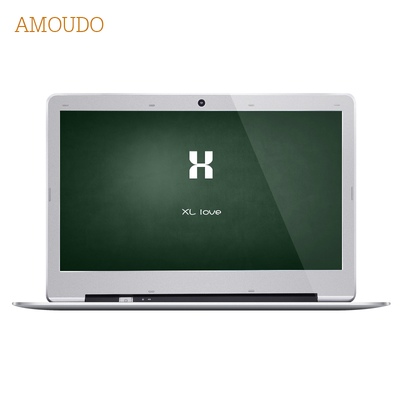 Amoudo-S3 14 inch 8GB Ram+120GB SSD+1TB HDD Intel Pentium Quad Core Windows 7/10 System Fashion New Laptop Notebook Computer crazyfire 14 inch laptop computer notebook with intel celeron j1900 quad core 8gb ram