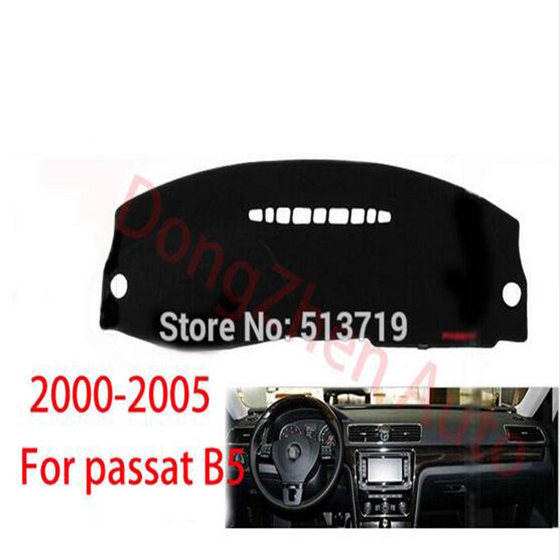 RHD Right Hand Drive Car Dashboard Avoid Light Pad Platform Cover Mat Carpets For Volkswagen VW PASSAT B5 2000-2005