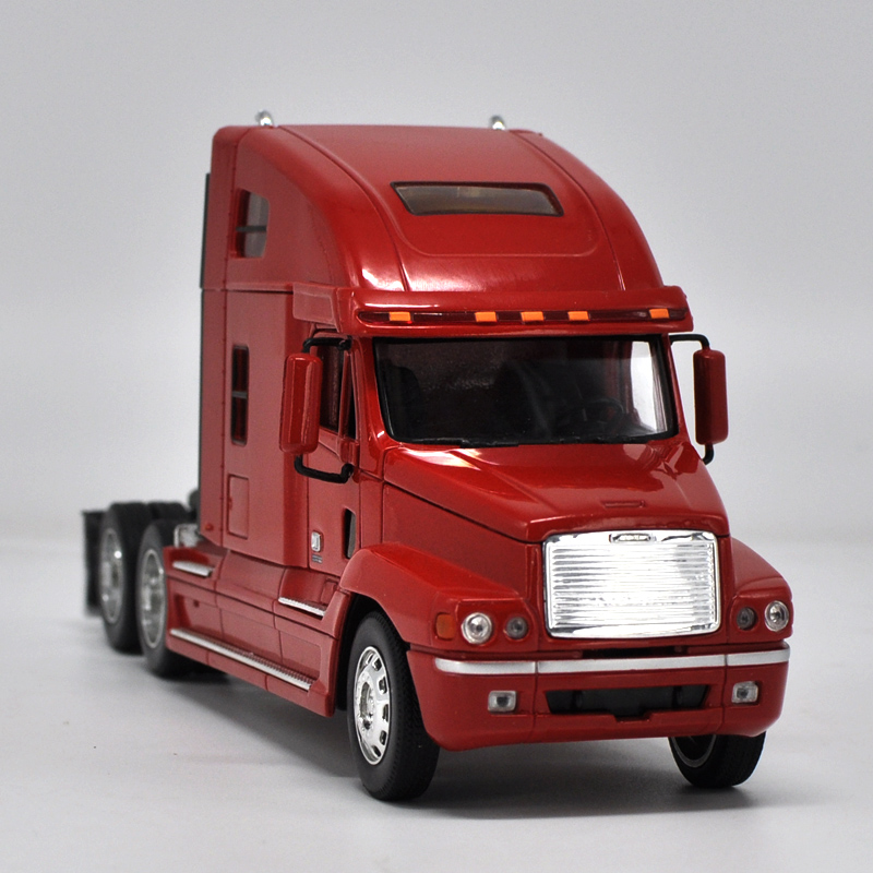 High simulation 1: 32 Kenworth Engineering Car Tractor Trailer European Truck Advanced model For ...