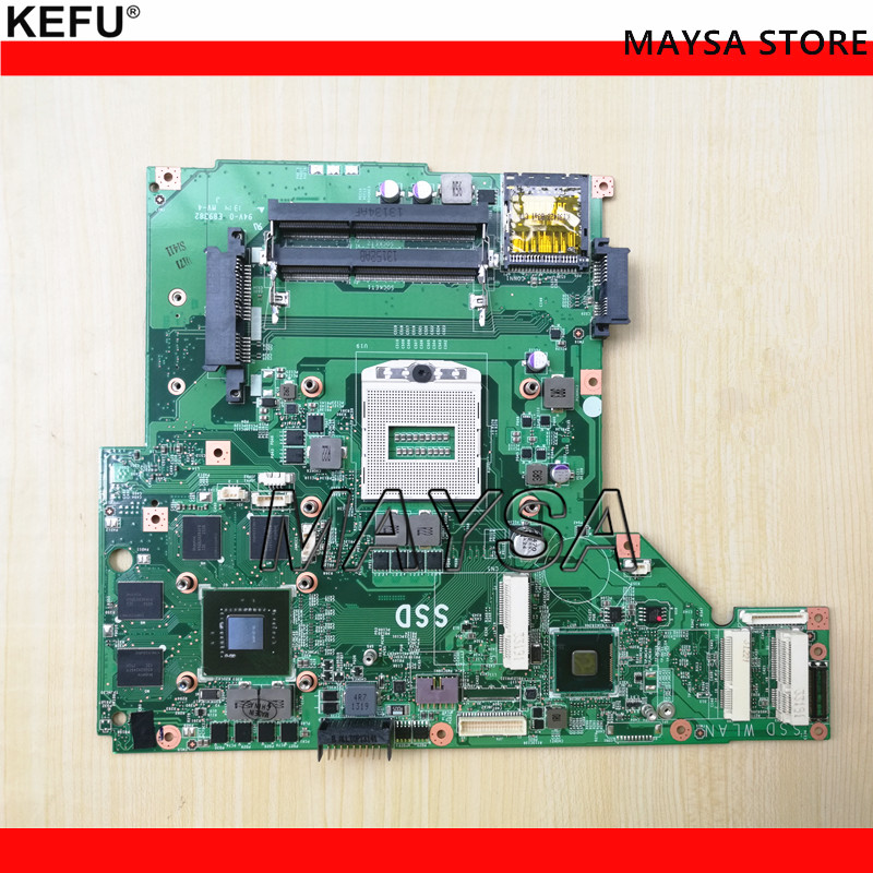 Oringal System Board Fit FOR MSI GE60 MS-16GC Laptop motherboard MS-16GC1 VER 1.1 DDR3 genuine for msi gt660r series ms 16f1 15 6 laptop touchpad bottons board w cable ms 16f1e 2