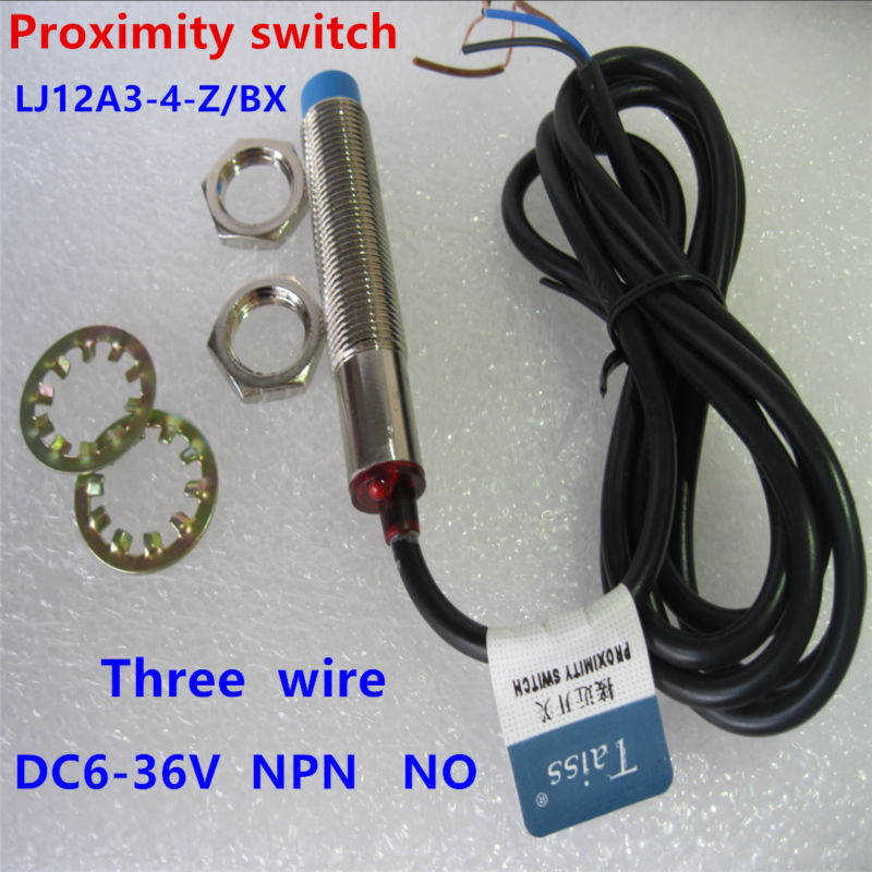 New Approach Sensor Inductive Proximity Switch PNP NC DC6-36V LJ12A3-4-Z//AY 4mm